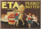 ETA Peanut Butter. Australian Advertisement by James Northfield, Vintage Poster