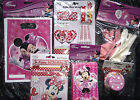 Minnie Mouse Party Accessories - Banner Balloons Party Bags Table Cover Disney