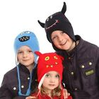 New Kids Boys Girls Monsters Beanie Inca  Hat, Animal Hat Winter Gift