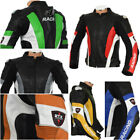 RTX Avenger Super Sport Motorcycle Biker Leather Biker Jacket ALL SIZES & COLORS