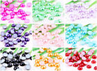 Half-round Plane  Nice  Acrylic Beads Pearl Fit Nail Art Phone Craft  2000pcs