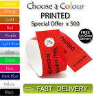 500 x PRINTED Tyvek Wristbands ID Security Bands FREE P&P Coloured Wristbands
