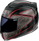 Icon Airframe Carbon RR Full Face Face Motorcycle Helmet Red