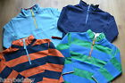 Mini Boden boys cotton 1/2 zip top sweatshirt jumper age 2-14