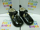 "Clarks Toddler Girls First Shoes ""IDA SPARKLE"" F & G Fittings"