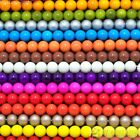 Czech Opaque Coated Glass Pearl Round Beads 16'' 4mm 6mm 8mm 10mm 12mm 14mm 16mm