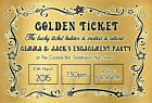 Personalised Engagement Party Invitations Invites E9