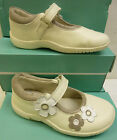 "Clarks Infant Girls Cotton Leather Shoes ""BINNIE BOO"" F&G-Fitting"