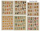 Nail Art Stickers - Water Transfer Nail Decals - Easter Eggs Chicks Rabbit - UK