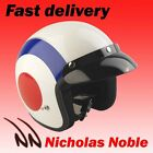 VIPER RS-04 OPEN FACE MOTORBIKE SCOOTER HELMET TARGET RED WHITE BLUE