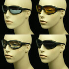 MOTORCYCLE GOGGLE SUN GLASSES NEW CHOPPER PADDED FOAM RIDING SPORT MP39