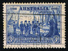 Aus Sc 164 = 1938 150th Anniversary Gov Phillip at Sydney Cove 3d = USED VF