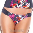 Panache Swimwear Tallulah Low Bikini Brief/Bottoms Charcoal SW0748 Select Size