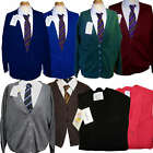 Rowlinsons / Sheldon/ Trutex Invicta  Knitted School Cardigans 7 Colours RRP £26