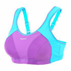 Quality Racerback Wireless Maximum Control Multi Sports Bra Solid Color