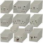 BUNDLE OFFER - Light Switches & Plug Sockets White Plastic