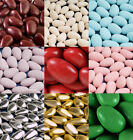 SUGARED ALMONDS 1KG BOX (APPROX 250) WEDDING PARTY FAVOURS GIFTS CHOOSE  COLOUR