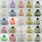 Assorted Organza Favour Gift Bags Pouches Wedding Favour 7x9cm,9x12cm,13x17cm