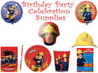 Fireman Sam Birthday Party Theme Celebration Supplies All Items Available Gift
