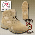 "Forced Entry Tactical Deployment Boots 6"" Desert Tan 5368"