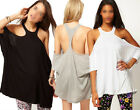 Womens Ladies Sexy Off Shoulder Batwing Sleeve T-shirt Blouse Vest Tank Top Tee