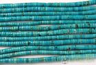 """Natural Turquoise Gemstone Heishi Beads Spacer 3mm 4mm 6mm 8mm 10mm 12mm 16"""""""
