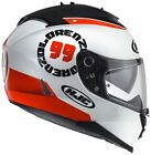 HJC IS-17 COMPOSITE FULL FACE MOTORCYCLE MOTORBIKE HELMET JORGE LORENZO REPLICA