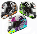 LS2 F351 ACTION GRAPHIC FULL FACE LIGHTWEIGHT MOTORCYCLE MOTORBIKE CRASH HELMET