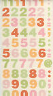 Mrs Grossman's Sticker block sheet 2 pack NIP Vellum numbers choose