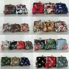 Ladies Oilcloth Flower/Owl Tree/Polka Dots/Butterfly Print Small Coin Purse