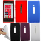 For Nokia Lumia 800 Color SILICONE Soft Gel Skin Rubber Case Cover Accessory
