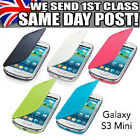 SAMSUNG i8190 Galaxy S3 SIII Mini  FLIP CASE BACK BATTERY COVER