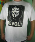 ANON Che Guevara REVOLT T-shirt Anonymous Occupy Wall Street tee sm-5xl
