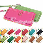 Fashion Woman Lady Faux Leather Bifold Card Holder Clutch Bag Wallet Purse Lot