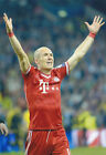 Arjen Robben Bayern Munich Chapions League winners  12x8 unsigned photo