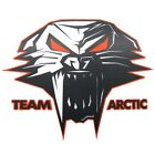 "Arctic Cat Cathead Decal Sticker - Black White Orange - 3"" 6"" 12"" - 5239-72_"