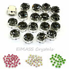 100 x 3.8mm GRADE A Sew On Cut Glass Crystals Rhinestones for Costume,Dress,3555