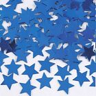 1/2 oz Confetti- Star Shaped 11mm Red/Silver/Blue,Blue,Gold, Silver, Iridescent