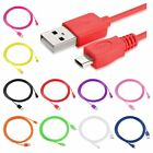6FT Micro USB Facts Cable Charger For Samsung HTC Motorola Cellphone Tablet