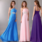 Long Wedding Bridesmaid Evening dress Party Prom Gown Cocktail Formal PLUS SIZE