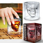 Crystal Skull Head Vodka Shot Whiskey Wine Beer Bar Glass Drinking Decanter Cup