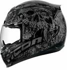Icon Airmada Parahuman Full Face Motorcycle Helmet Black
