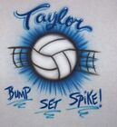 VOLLEYBALL AIRBRUSHT SHIRTS GROUP TEAM LISTING (READ) YOUTH AND ADULT SIZES
