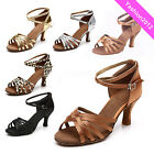 Brand New Women's Ballroom Latin Tango Dance Shoes heeled Salsa 9 Colors 213-S