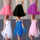 2style Formal Bridesmaid Cocktail Prom Gown Party Evening Short Mini Dress In UK