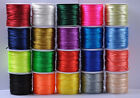 1Roll Chinese Knot Nylon Beading Thread String Jewelry Cord 1.5-2.5MM 20 Colour