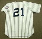 PAUL O'NEILL New York Yankees 1998 Majestic Cooperstown Home Baseball Jersey