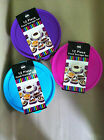 12 Piece Food Storage Set In 3 Bright Colours Blue, Purple And Pink Great Item!