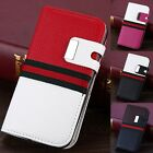 For Samsung Galaxy S4 I9500 Flip Wallet Hot Luxury PU Leather Case Cover Pouch