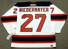 SCOTT NIEDERMAYER New Jersey Devils 2003 CCM Throwback Home NHL Hockey Jersey